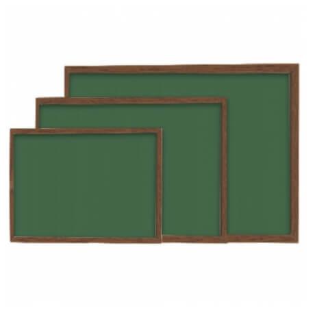 Yazı Tahtası MDF Çerçeve Yeşil / Siyah