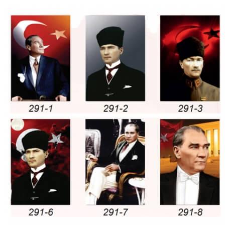 35x50cm Çerçeveli Atatürk Fotoğrafları