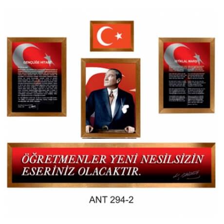 Atatürk Köşesi Set - 3