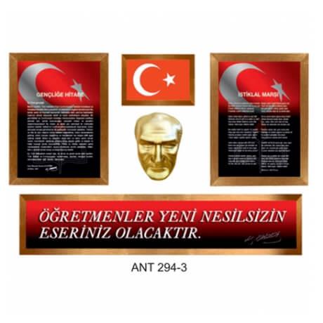 Atatürk Köşesi Set - 4