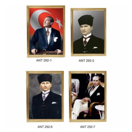 Özel Çerçeveli Atatürk Fotoğrafları